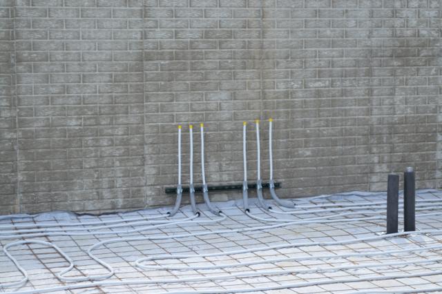 basement plumbing and walls June 201505