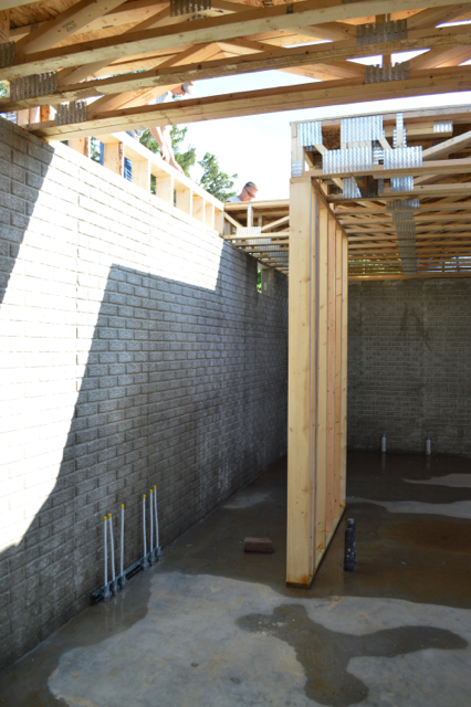 Installing floor trusses (and trusses vs. joists) - NewlyWoodwards