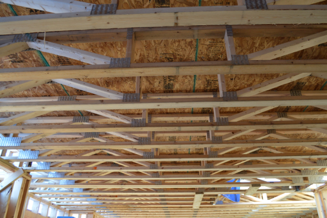 Installing floor trusses and trusses vs joists Floor trusses vs floor joists