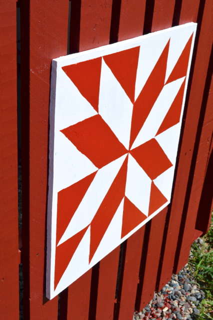 small DIY barn quilt1