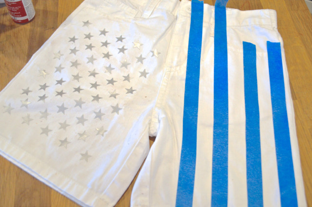 American Flag Shorts DIY Toddler NewlyWoodwards1