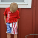 American Flag Shorts DIY Toddler NewlyWoodwards3