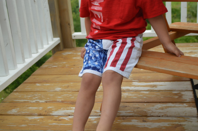 American Flag Shorts DIY Toddler NewlyWoodwards6