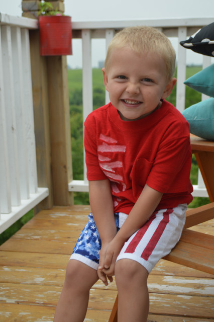 American Flag Shorts DIY Toddler NewlyWoodwards7