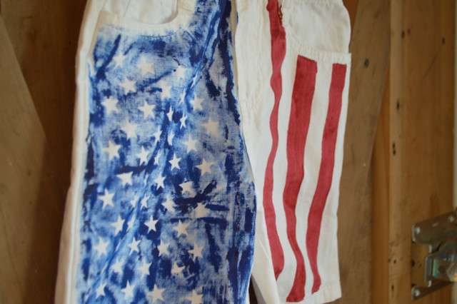 American Flag Shorts DIY Toddler NewlyWoodwards8