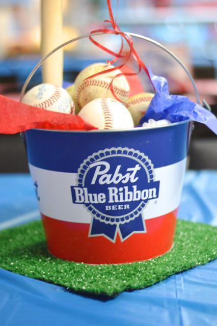 Baseball and beer birthday party02