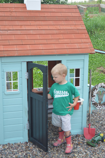 Cedar playhouse repainted5