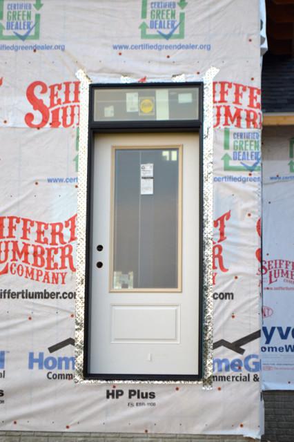 pella black doors and windows installed3