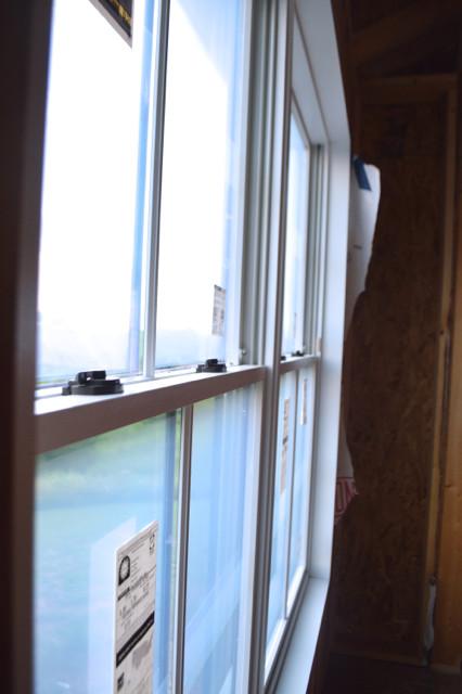 pella black doors and windows installed7