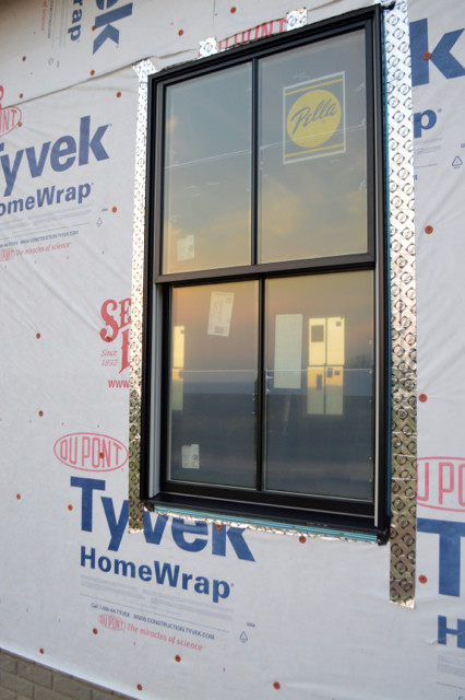 pella black doors and windows installed8