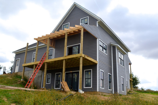 siding progress September 201502