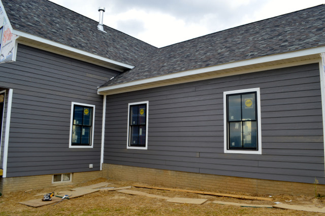 siding progress September 201506