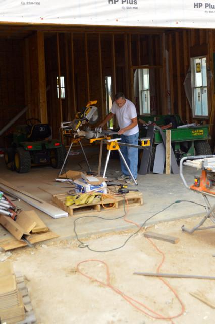 siding progress September 201510