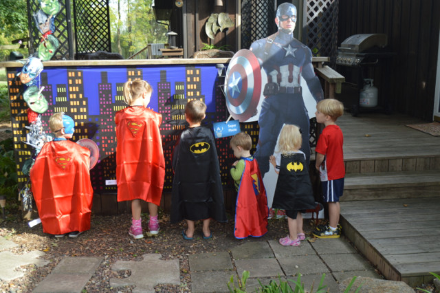 A Superhero Training Camp For Halloween Newlywoodwards