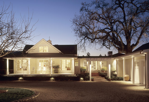 Porch Roofing And Exterior Lighting Ideas