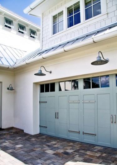 lights above garage door