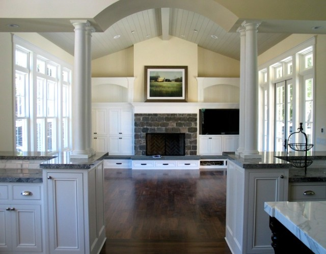 Fireplace Raised Hearth. raised hearth with drawers Weigh in  ideas for our farmhouse fireplace NewlyWoodwards