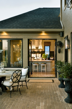 Porch roofing and exterior lighting ideas - NewlyWoodwards