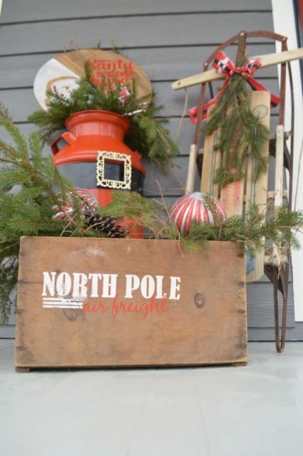 North Pole Air Freight DIY Box