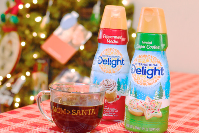 international delight and a personalized mug for the holidays2