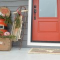 santa front door DIY decor