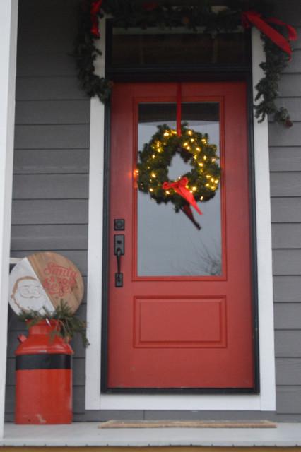 wreaths on windows3