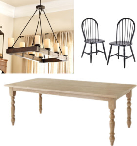 Inspired: dining room