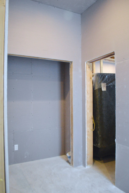 hanging plaster board DIY11