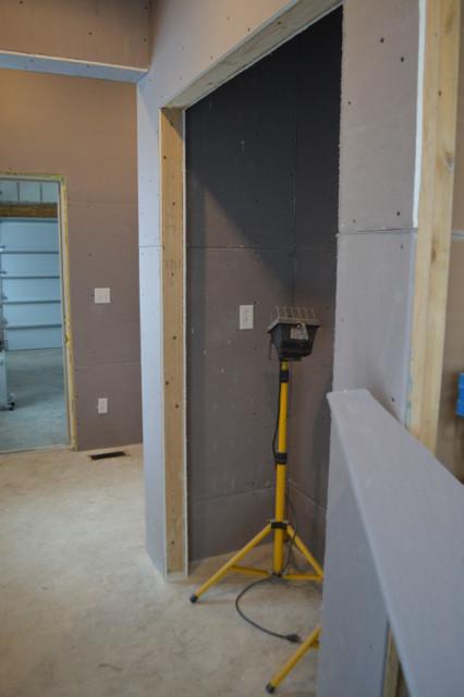 hanging plaster board DIY13
