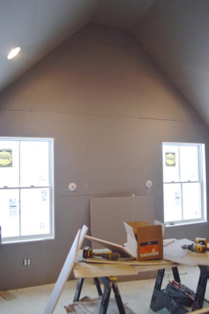 hanging plaster board DIY20