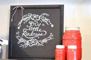 """The lazy gal's guide: using vinyl to make perfect """"chalkboard art"""""""