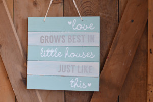 Love grows best in little houses (and free Silhouette cut file)