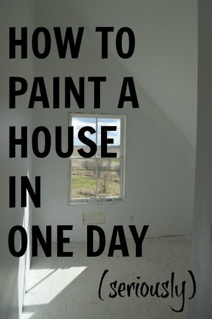 how-to-paint-a-house-in-a-day