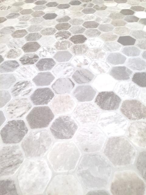 Hexagon tile sheet vinyl2