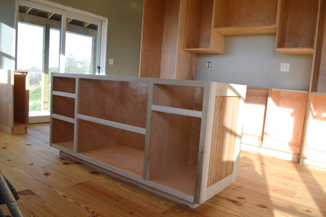 kitchen cabinet boxes installed3