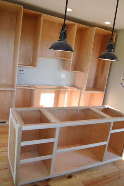 kitchen cabinet boxes installed5