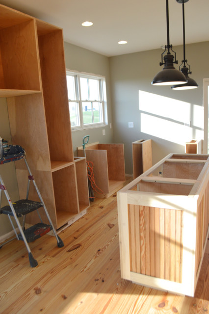 kitchen cabinet boxes installed7