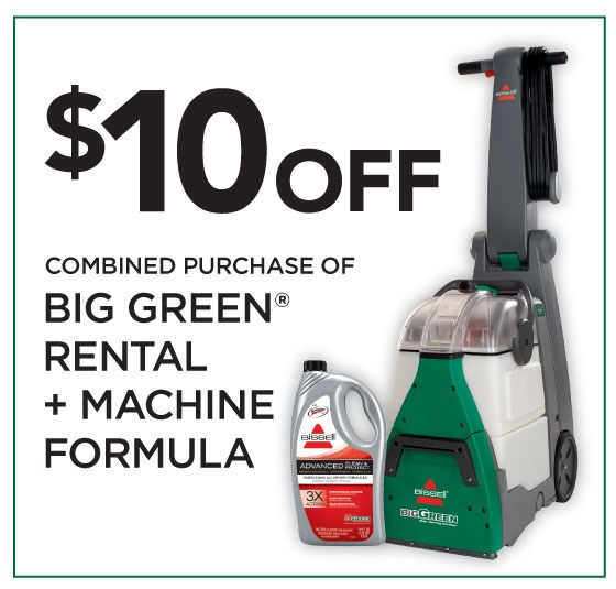 Bissell Big Green Vs The Rug Doctor Which Carpet