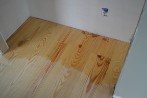 How we finished our yellow pine floors (without poly)