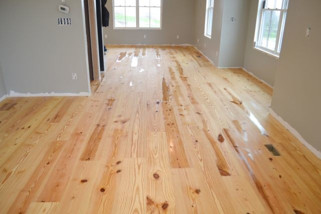 Finishing hard wood floors with tung oil3