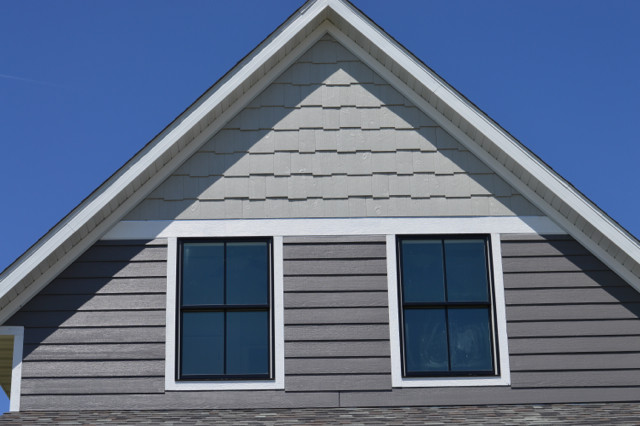 4 reasons we chose engineered wood siding and starbucks Engineered wood siding colors