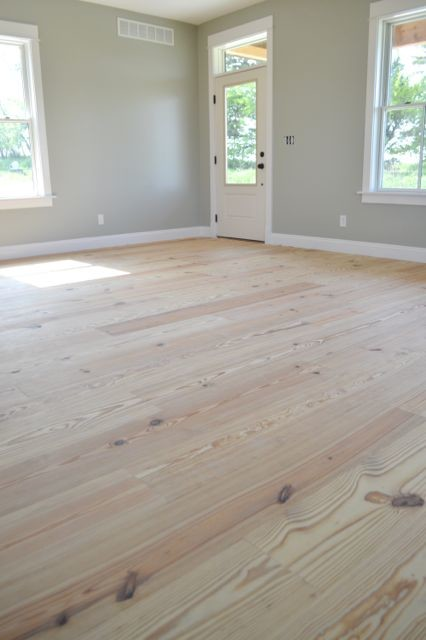 Yellow pine floors finished with tung oil04