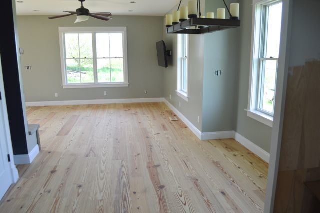 Yellow pine floors finished with tung oil09