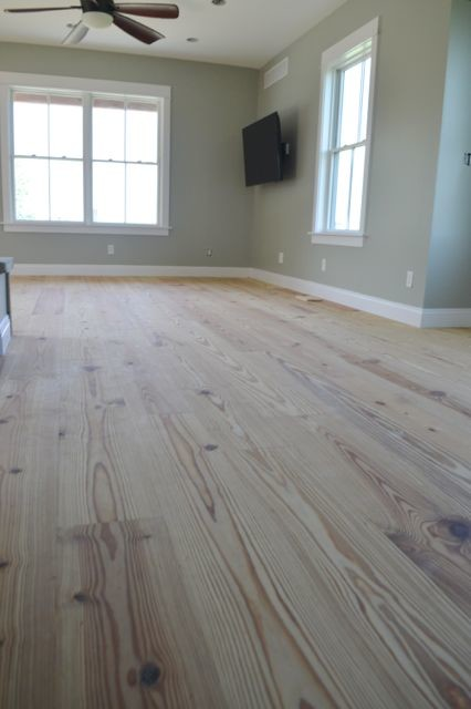 Yellow pine floors finished with tung oil11