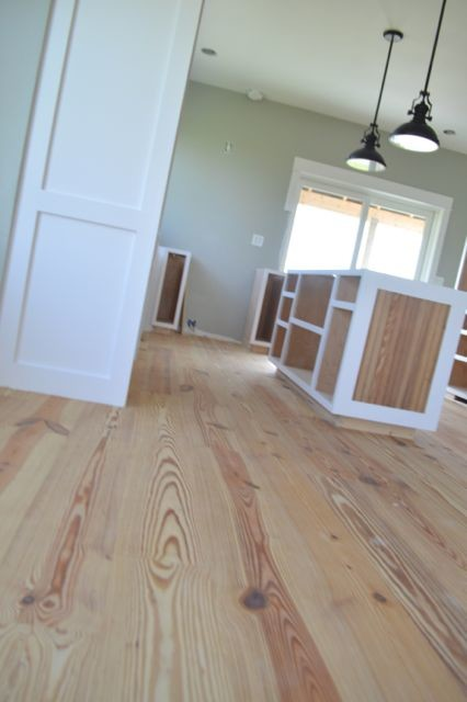 How We Finished Our Yellow Pine Floors Without Poly