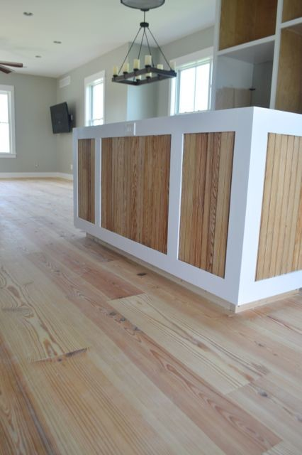 Yellow pine floors finished with tung oil16