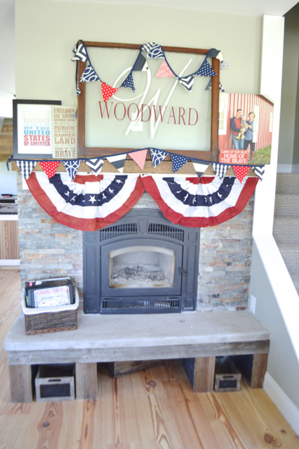 patriotic mantel1