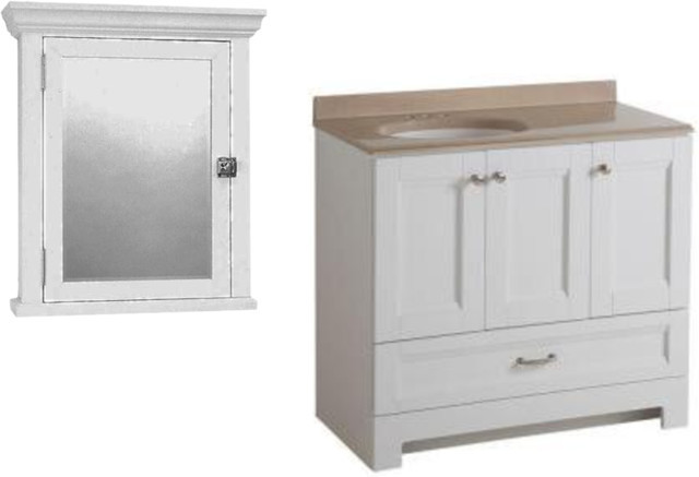 bathroom vanity and cabinet
