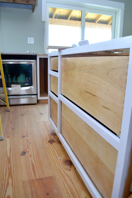 drawers installed in custom cabinets1