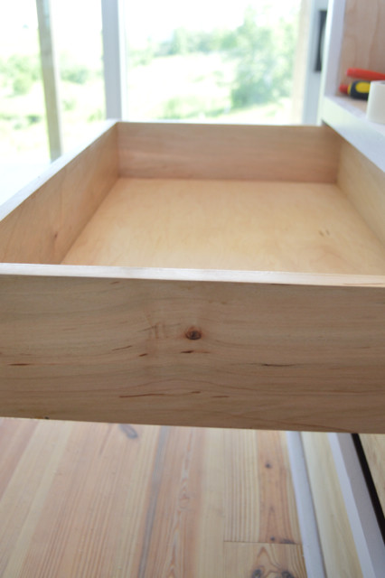 drawers installed in custom cabinets6